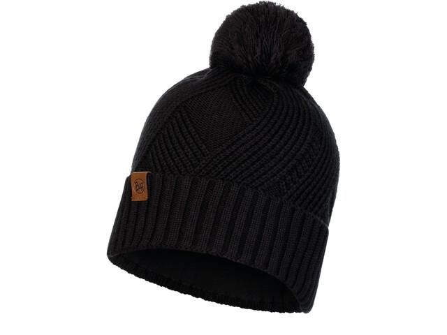 Buff Raisa Knitted & Fleece Band Hat Women black